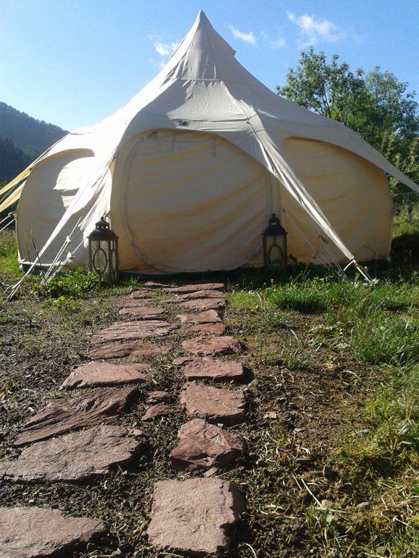 Tente Lotus Camping Le Cians