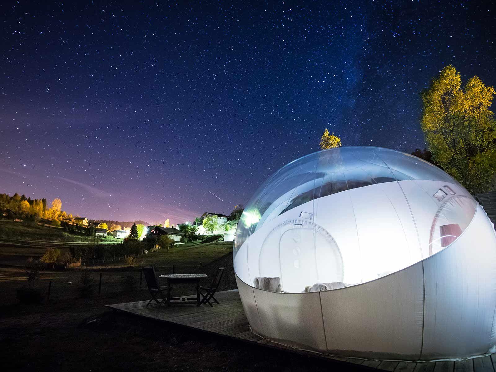 La Bulle du Cians Camping