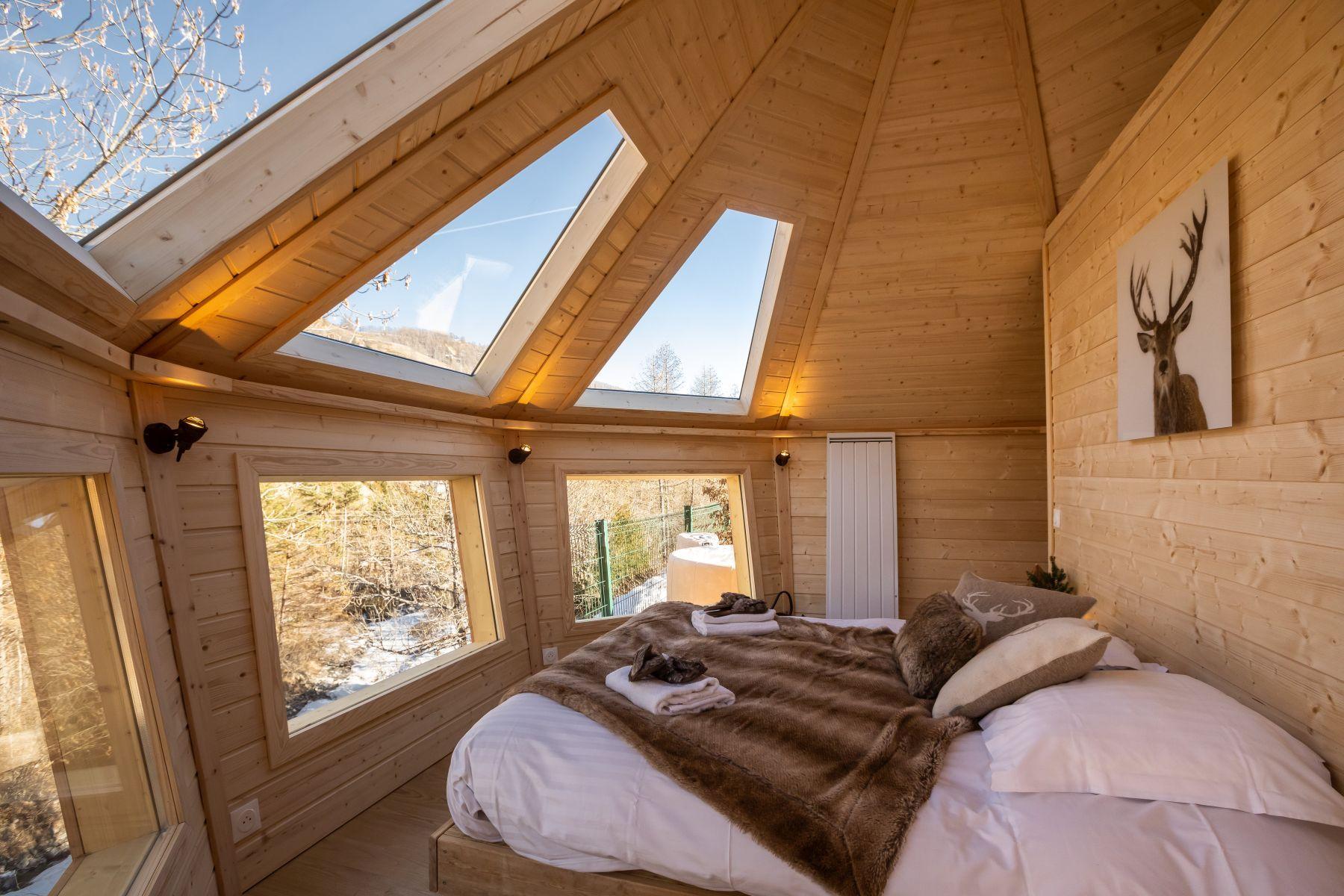 Lodge Boréal Camping le Cians